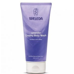 Weleda Creamy Body Wash 200 Ml Laventeli Suihkuvoide