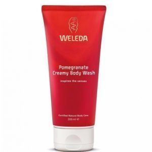 Weleda Creamy Body Wash 200ml Pomegranate Suihkugeeli