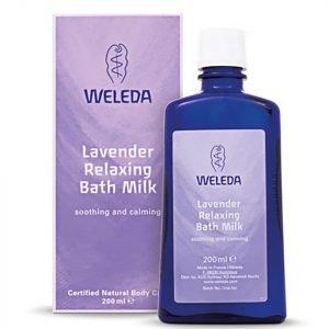 Weleda Lavender Relaxing Bath Milk 200 Ml