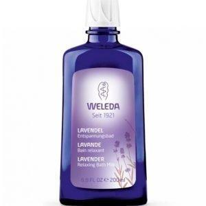 Weleda Lavender Relaxing Bath Milk 200 Ml Kylpyöljy