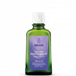 Weleda Lavender Relaxing Body Oil 100 ml Rentouttava laventeli-vartaloöljy