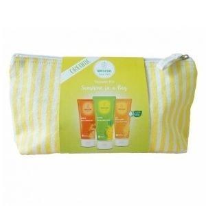 Weleda Sunshine In A Bag Duschkit Kosmetiikkalaukku