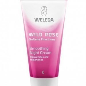 Weleda Wild Rose Smoothing Night Cream 30 ml Tasoittava villiruusu-yövoide