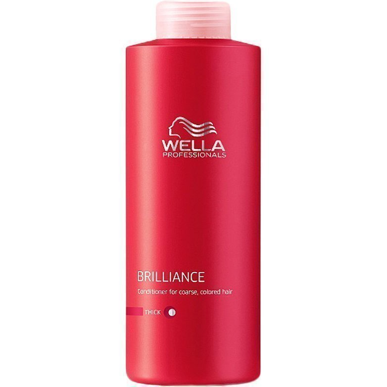 Wella Brilliance Conditioner (Thick Hair) 1000ml