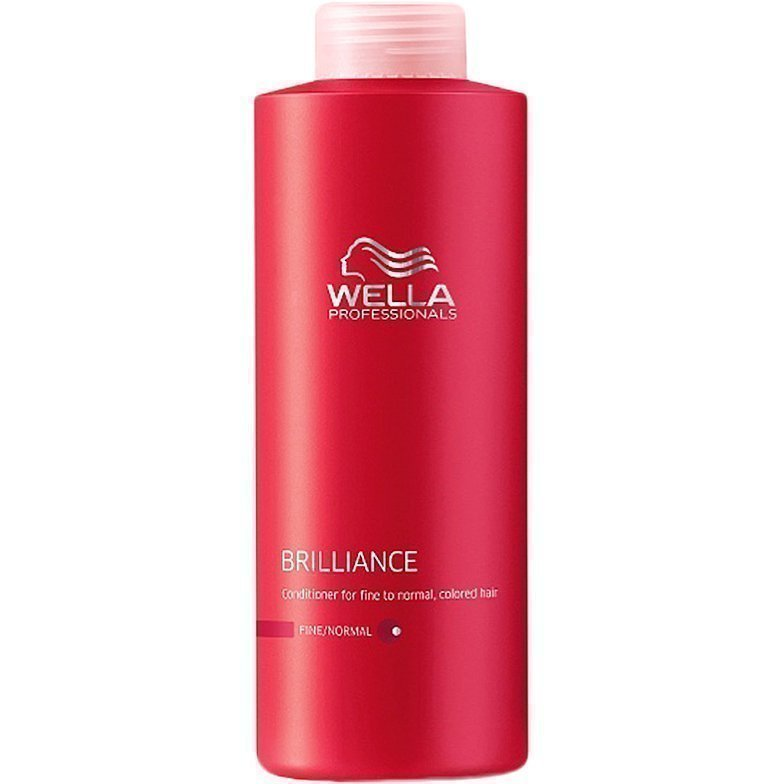 Wella Brilliance Conditioner for Fine to Normal Clored Hair 1000ml