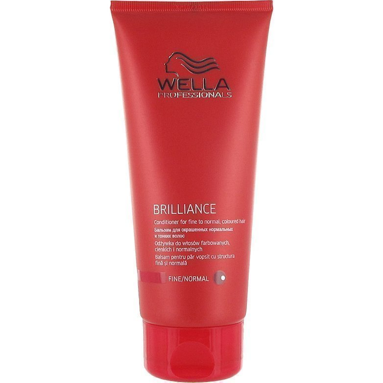Wella Brilliance Conditioner for Fine to Normal Colored Hair 200ml