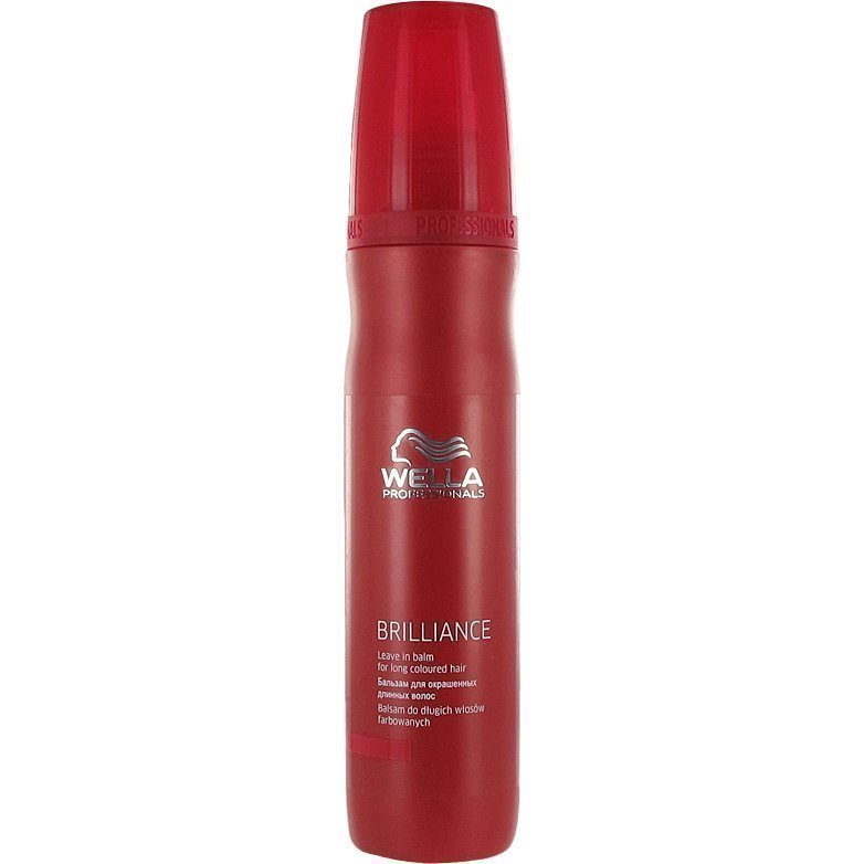 Wella Brilliance Leave In Balm For Colored Hair 150ml