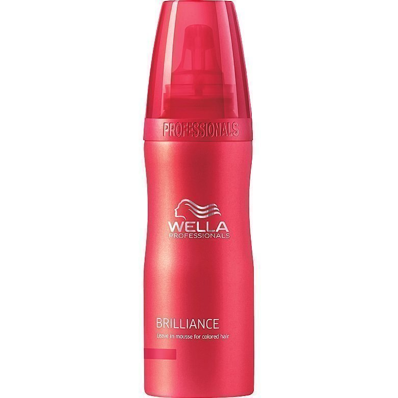 Wella Brilliance Leave In Mousse 200ml