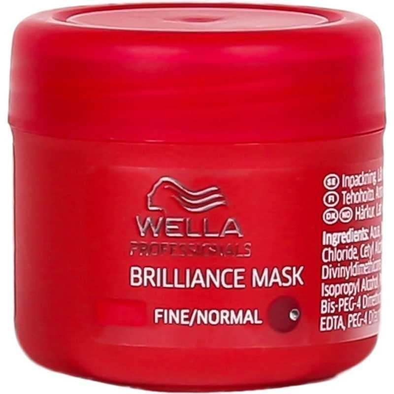 Wella Brilliance Mask for Fine/Normal Hair 25ml