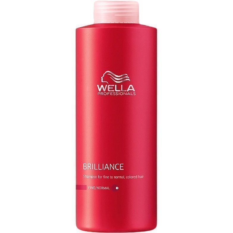 Wella Brilliance Shampoo Fine/Normal Hair 1000ml