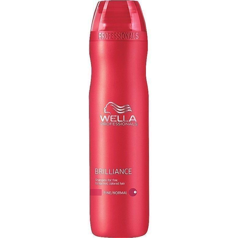 Wella Brilliance Shampoo Fine/Normal Hair 250ml