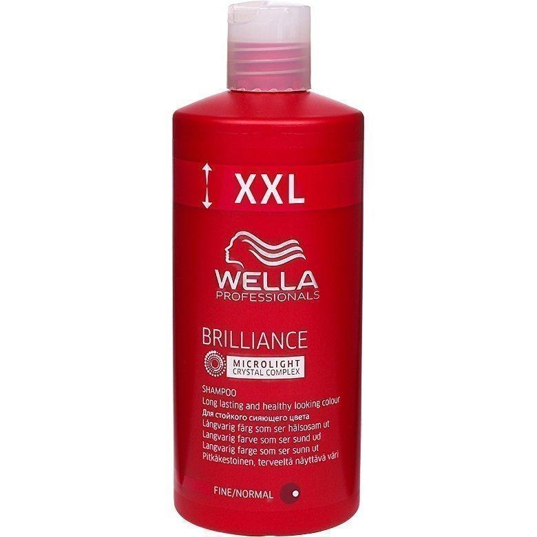 Wella Brilliance Shampoo Fine/Normal Hair 500ml