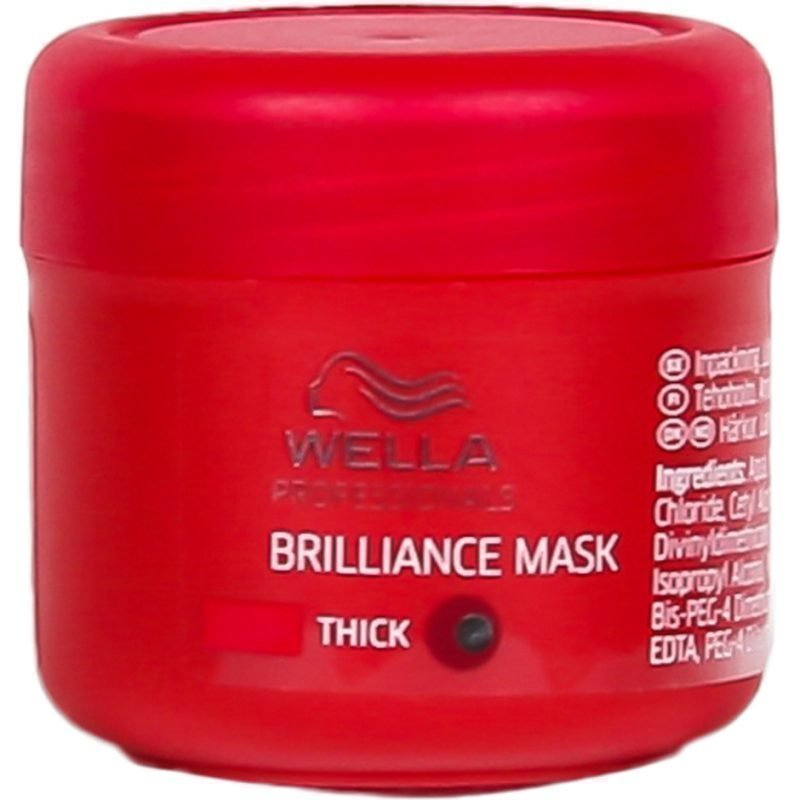 Wella Brilliance Treatment for Coarce Colored Hair Thick Hair 25ml