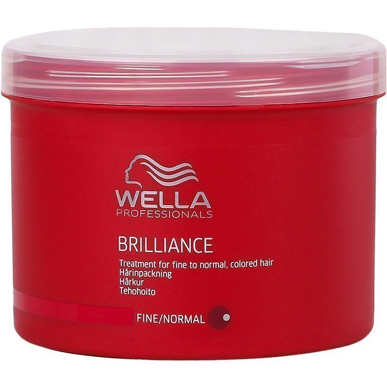 Wella Brilliance Treatment for coarce Colored Hair (Fine/Normal Hair) 500ml