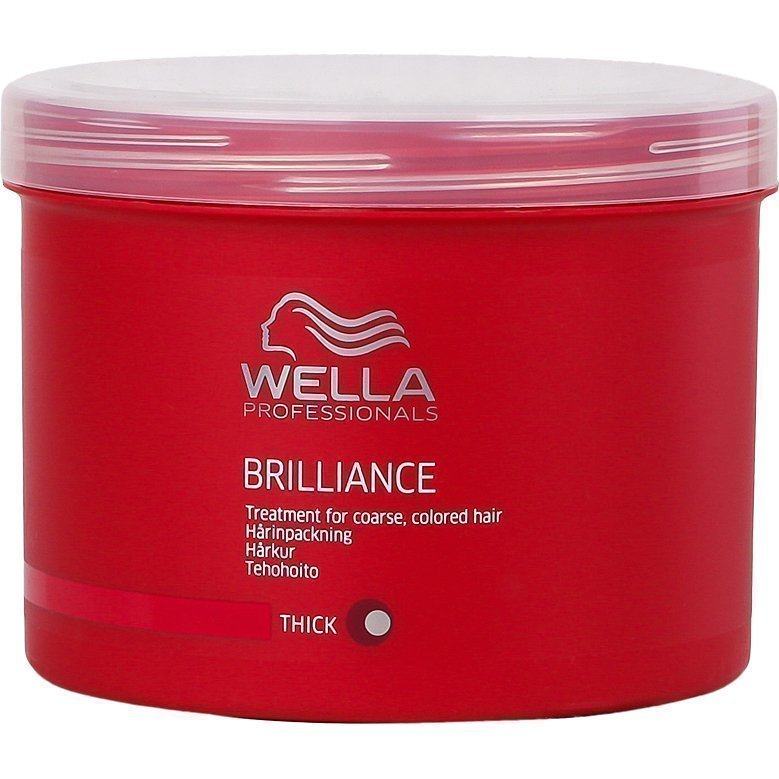 Wella Brilliance Treatment for coarce Colored Hair (Thick) 500ml
