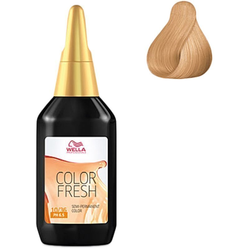 Wella Color Fresh 10/36 Lightest Blonde Gold Violet 75ml