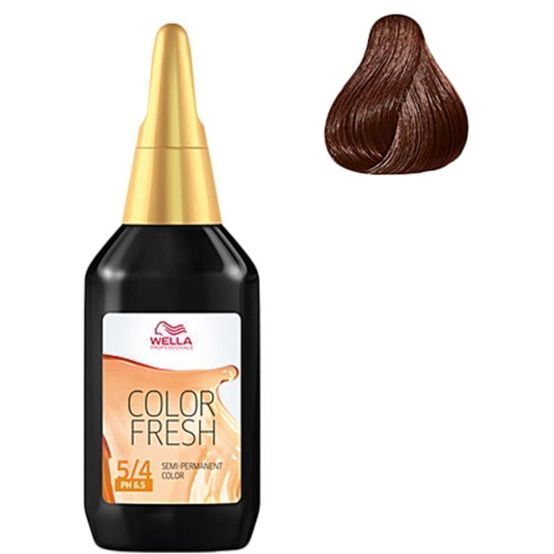 Wella Color Fresh 5/4 Light Red Brown 75ml