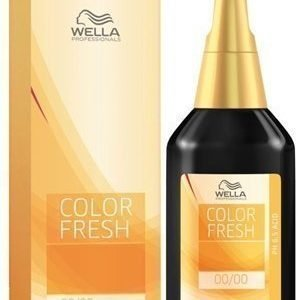 Wella Color Fresh 7/43 Medium Blonde Red Gold
