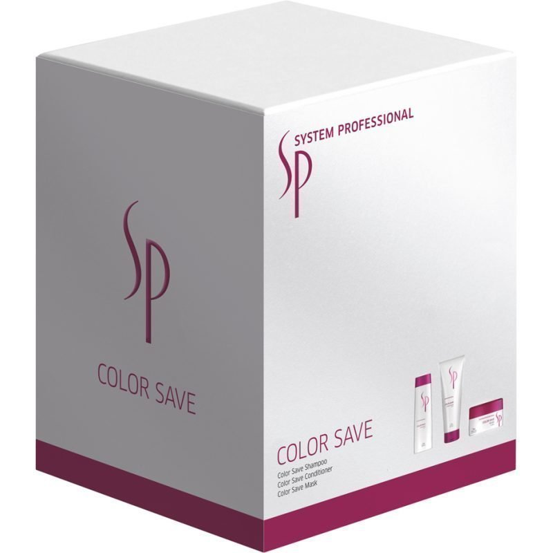 Wella Color Save Set Shampoo 250ml Conditioner 200ml Mask 150ml