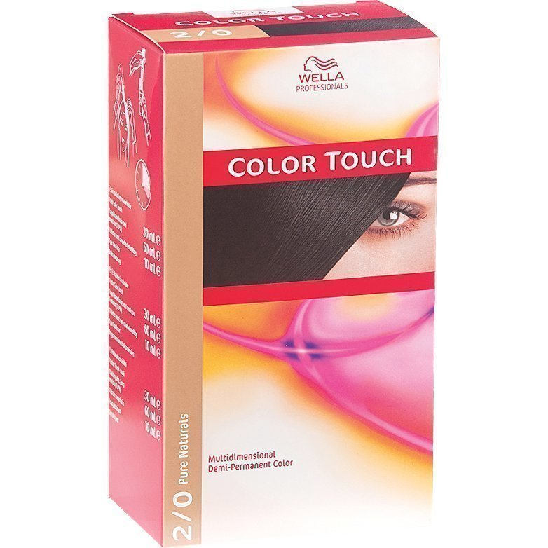 Wella Color Touch 2/0 Pure Naturals Black
