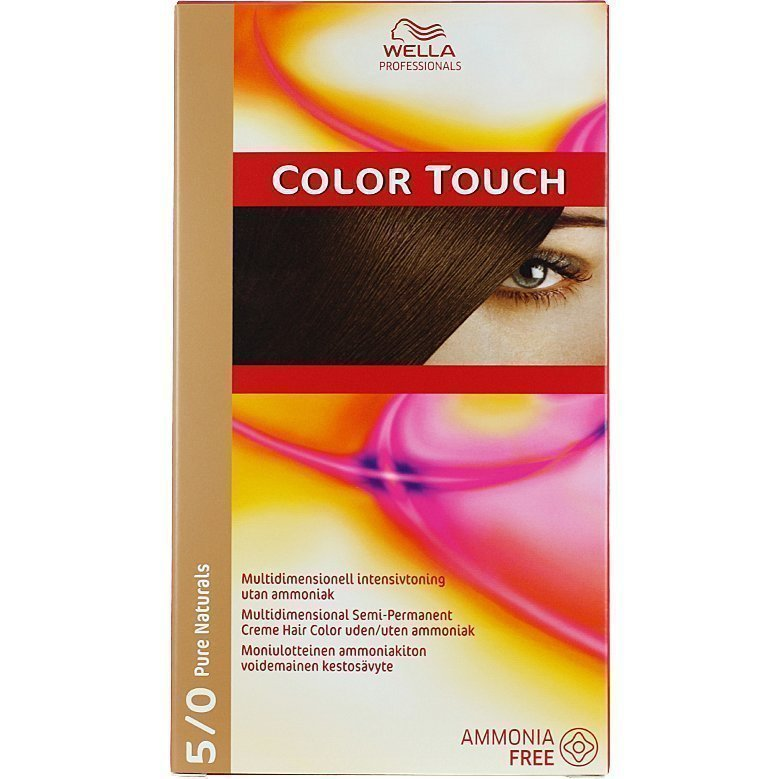 Wella Color Touch 5/0 Pure Naturals Light Brown