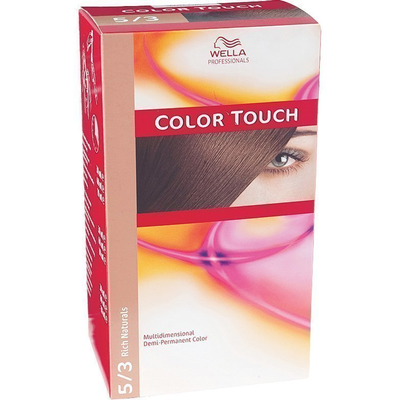 Wella Color Touch 5/3 Rich Naturals Golden Brown