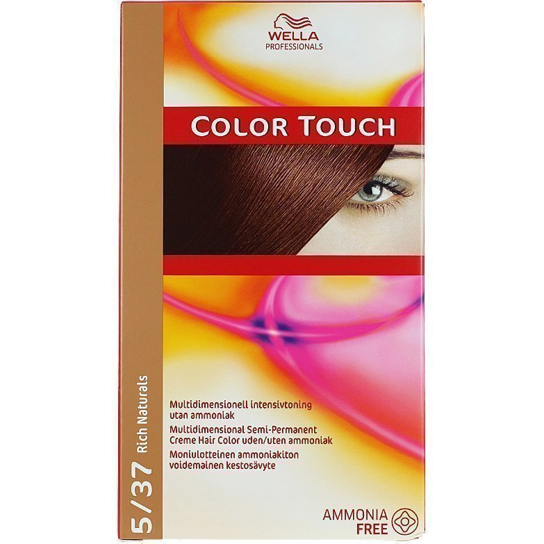 Wella Color Touch 5/37 Rich Naturals Golden Brownie