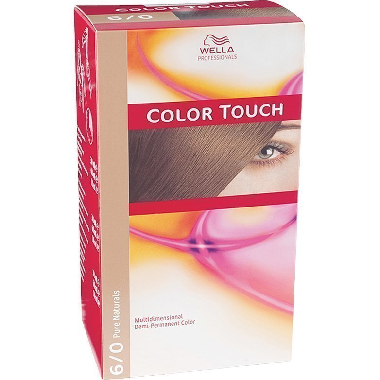 Wella Color Touch 6/0 Pure Naturals Dark Blonde