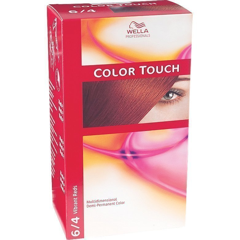 Wella Color Touch 6/4 Vibrant Reds Mahogany Copper