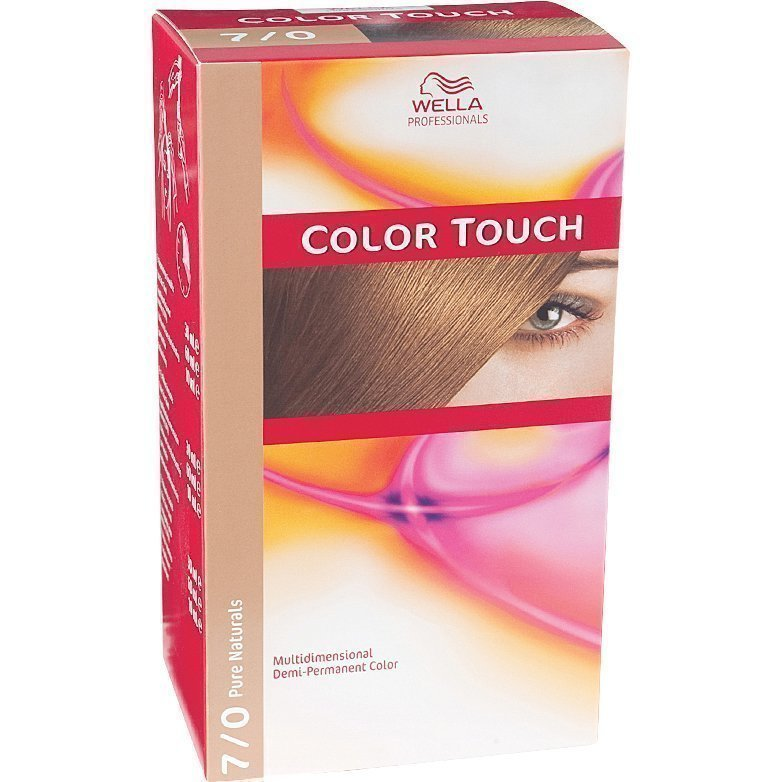 Wella Color Touch 7/0 Pure Naturals Medium Blonde
