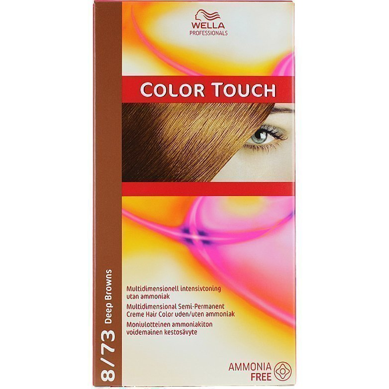 Wella Color Touch 8/73 Deep Browns Arizona Gold
