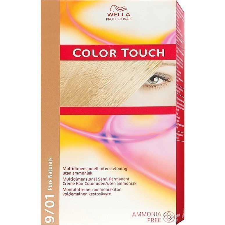Wella Color Touch 9/01 Pure Naturals Cool Ash