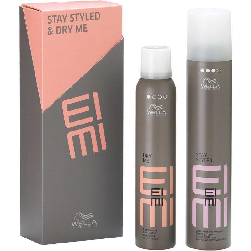 Wella EIMI Set Dry Shampoo 180ml Finishing Spray 300ml