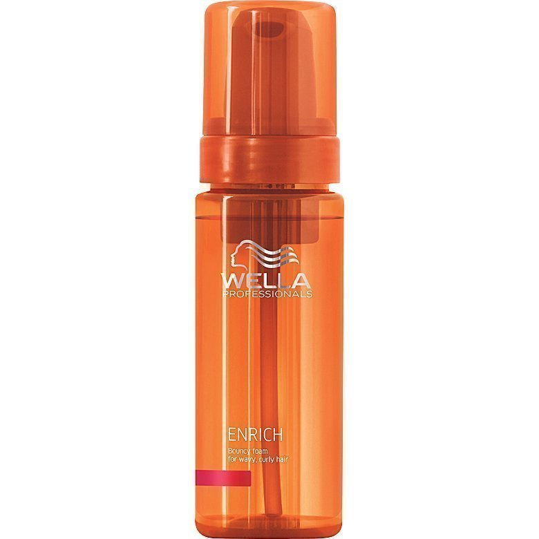 Wella Enrich Bouncy Foam for Wavy Curly Hair 150ml