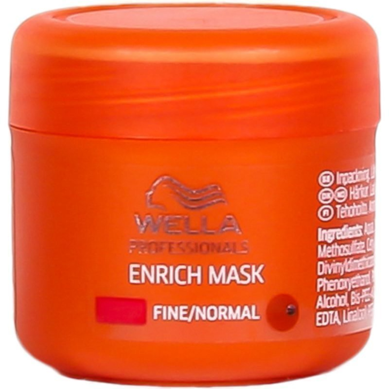 Wella Enrich Moisturizing Mask Fine/Normal Hair 25ml
