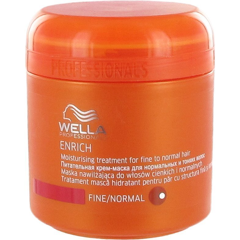 Wella Enrich Moisturizing Treatment for Fine to Normal Hair 150ml