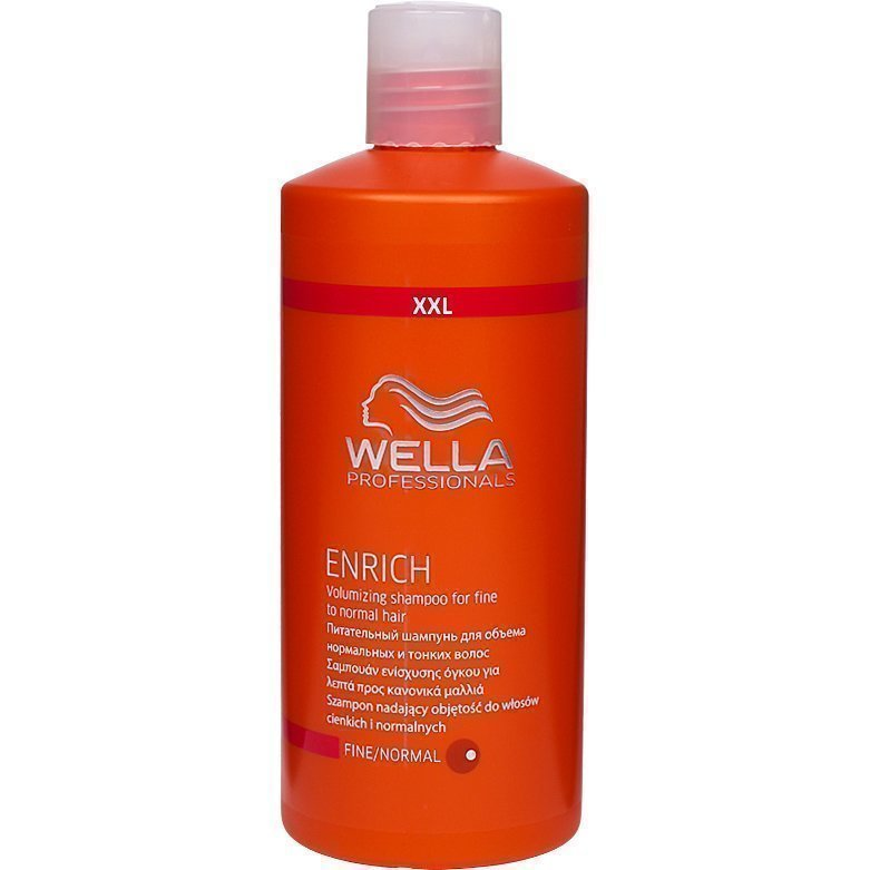 Wella Enrich Shampoo Fine/Normal Hair 500ml