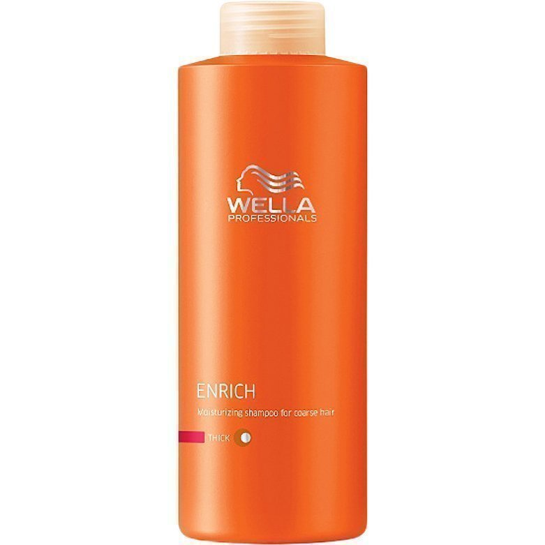 Wella Enrich Shampoo Thick/Coarse Hair 1000ml