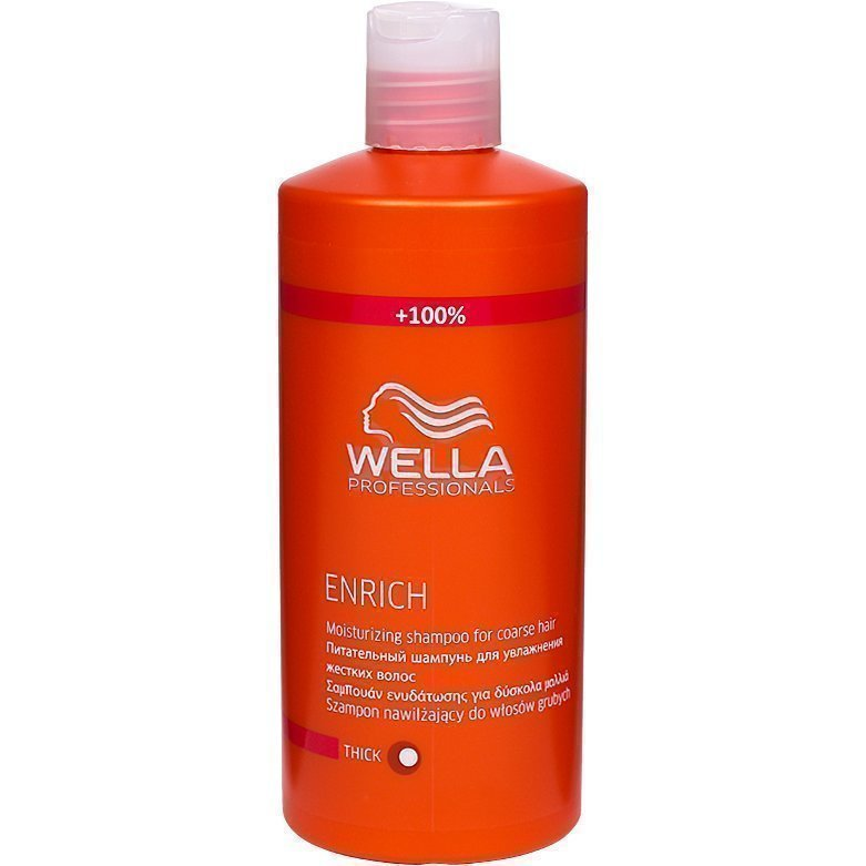 Wella Enrich Shampoo Thick/Coarse Hair 500ml