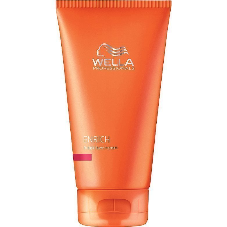Wella Enrich Straight Leave In Cream 150ml