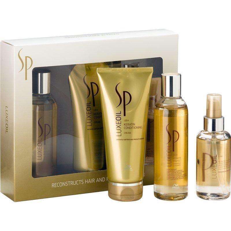 Wella Luxeoil Set Shampoo 200ml Conditioner 200ml Reconstructive Elixir 100ml