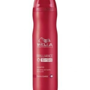 Wella Professional Care Brilliance Shampoo Coarse Microlight 250 ml