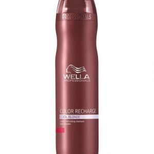 Wella Professional Care Color Recharge Shampoo Cool Blonde 250 ml