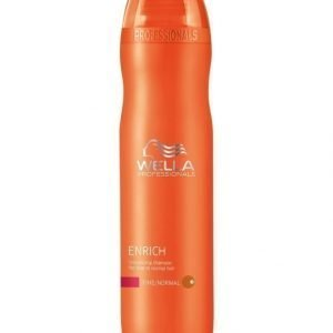 Wella Professional Care Enrich Shampoo Fine 250 ml
