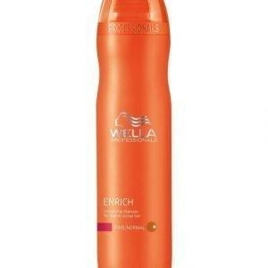 Wella Professional Care Enrich Shampoo Fine 250 ml