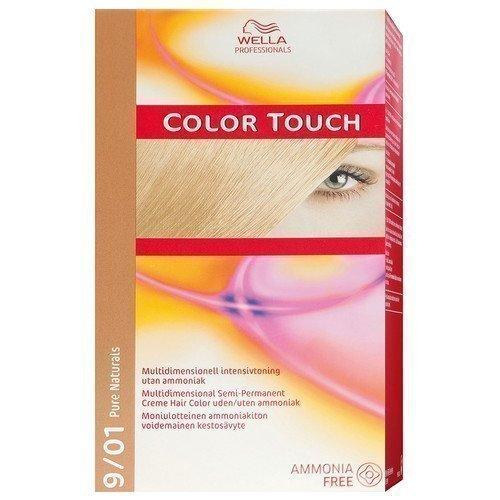 Wella Professionals Care Pure Naturals Color Touch 9/01