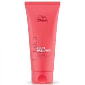Wella Professionals Invigo Color Brilliance Conditioner For Fine Hair 200 Ml
