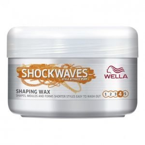 Wella Shockwaves Shaping Wax Hiusvaha 75 Ml