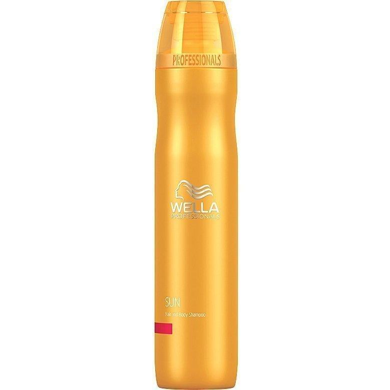 Wella Sun Hair & Body Shampoo 250ml