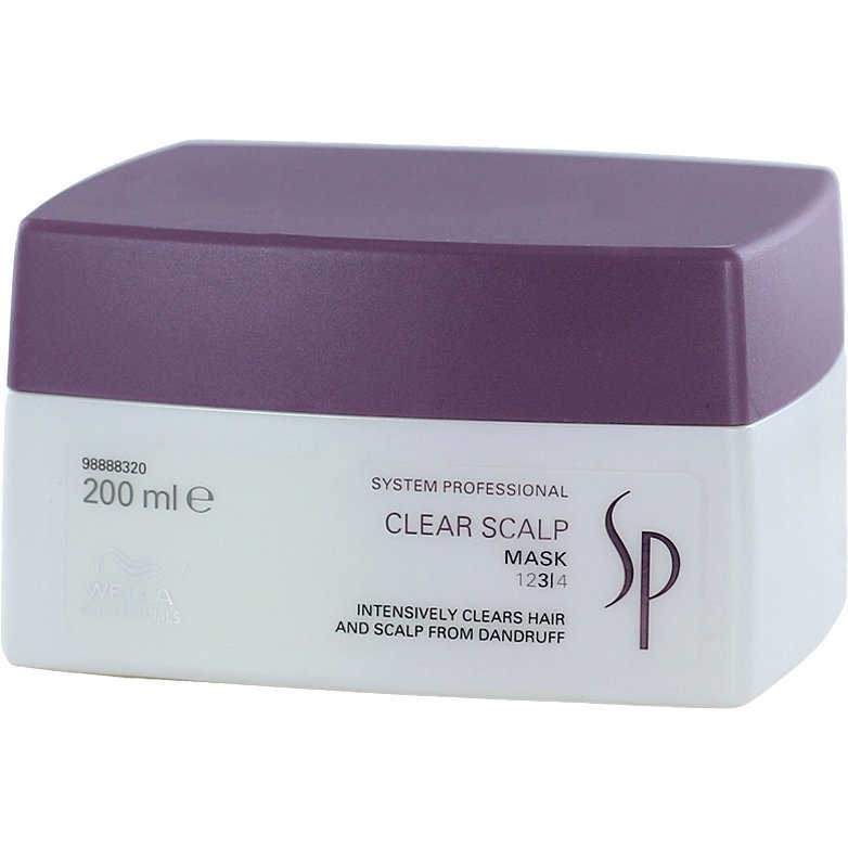 Wella System Professional Clear Scalp Mask 3 200ml